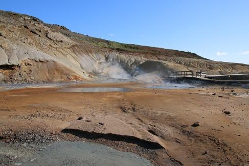 Seltun Geothermalgebiet