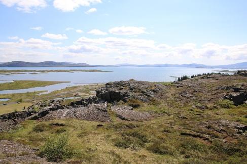 Thingvellir Spalte und See