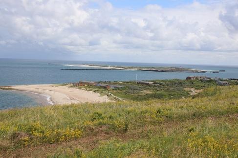 Helgoland - Blick auf Düne