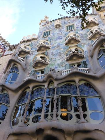 Barcelona Casa Batllo Gaudi