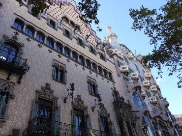 Barcelona Eixample Casa Batllo und Casa Amatller