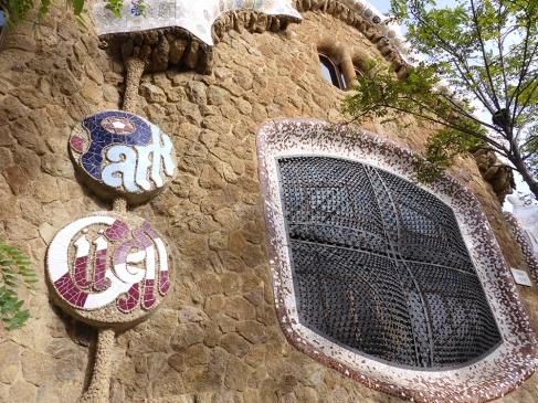 Barcelona Park Güell Eingang