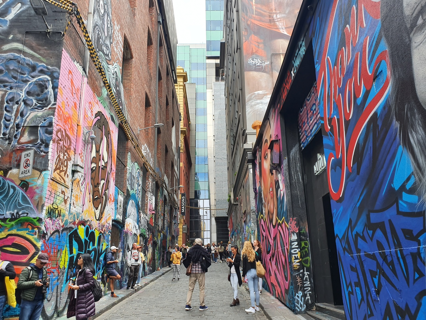 Melbourne Street Art Hosier Lane