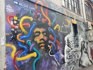Melbourne Street Art AC/DC Lane