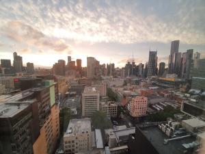 Melbourne Blick aus Citadines