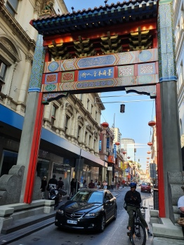 Melbourne Melbourne Little Bourke Street Chinatown