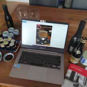 Online Sake Verkostung Ueno Gourmet