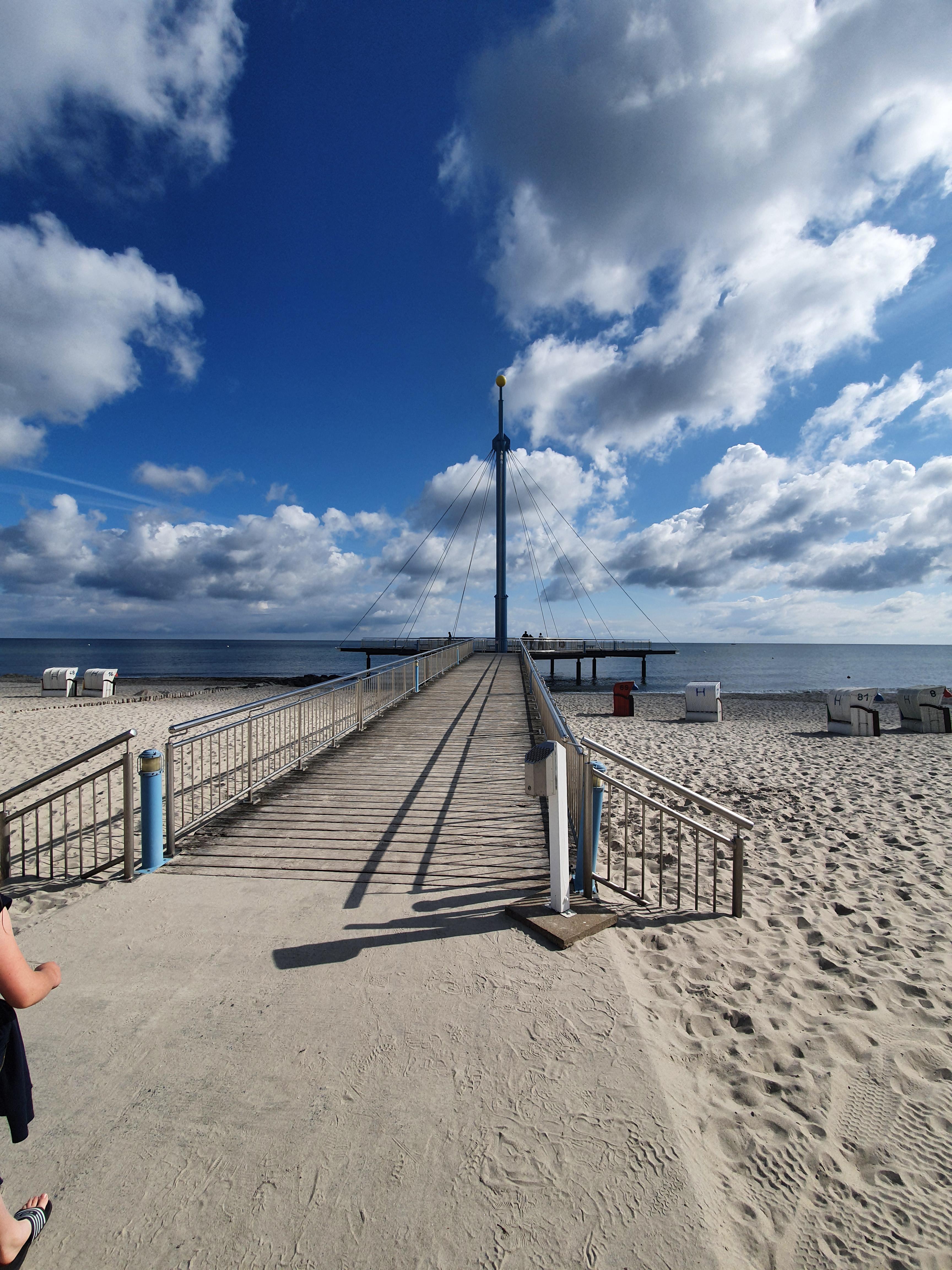 Hohwacht Strand Flunder