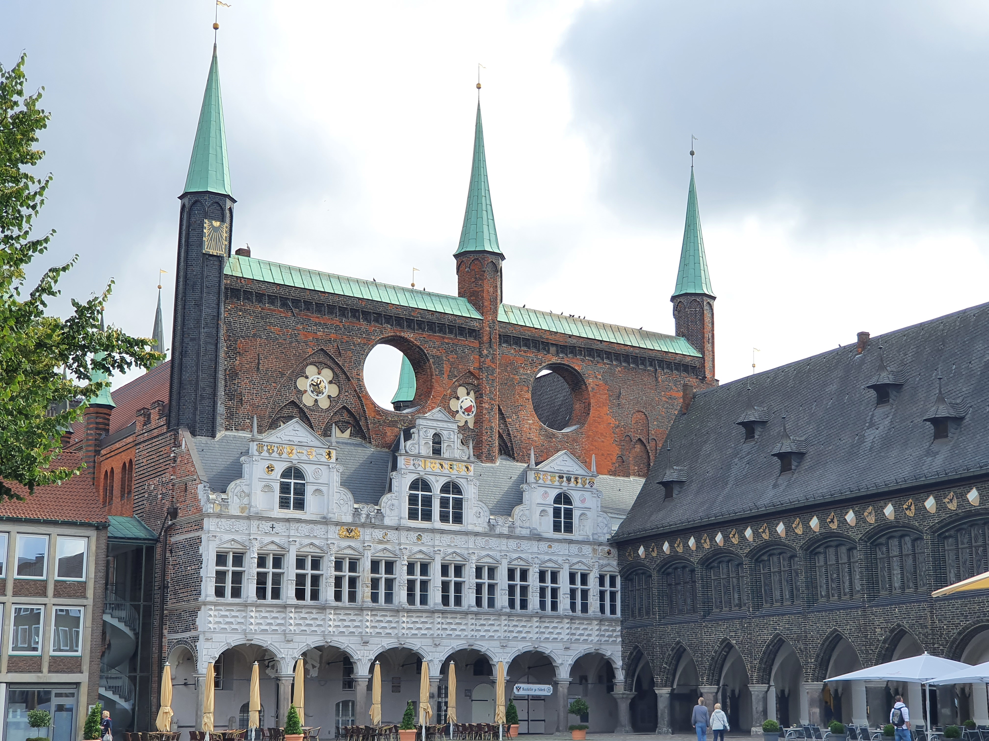 Lübeck - Altstadt Rathaus