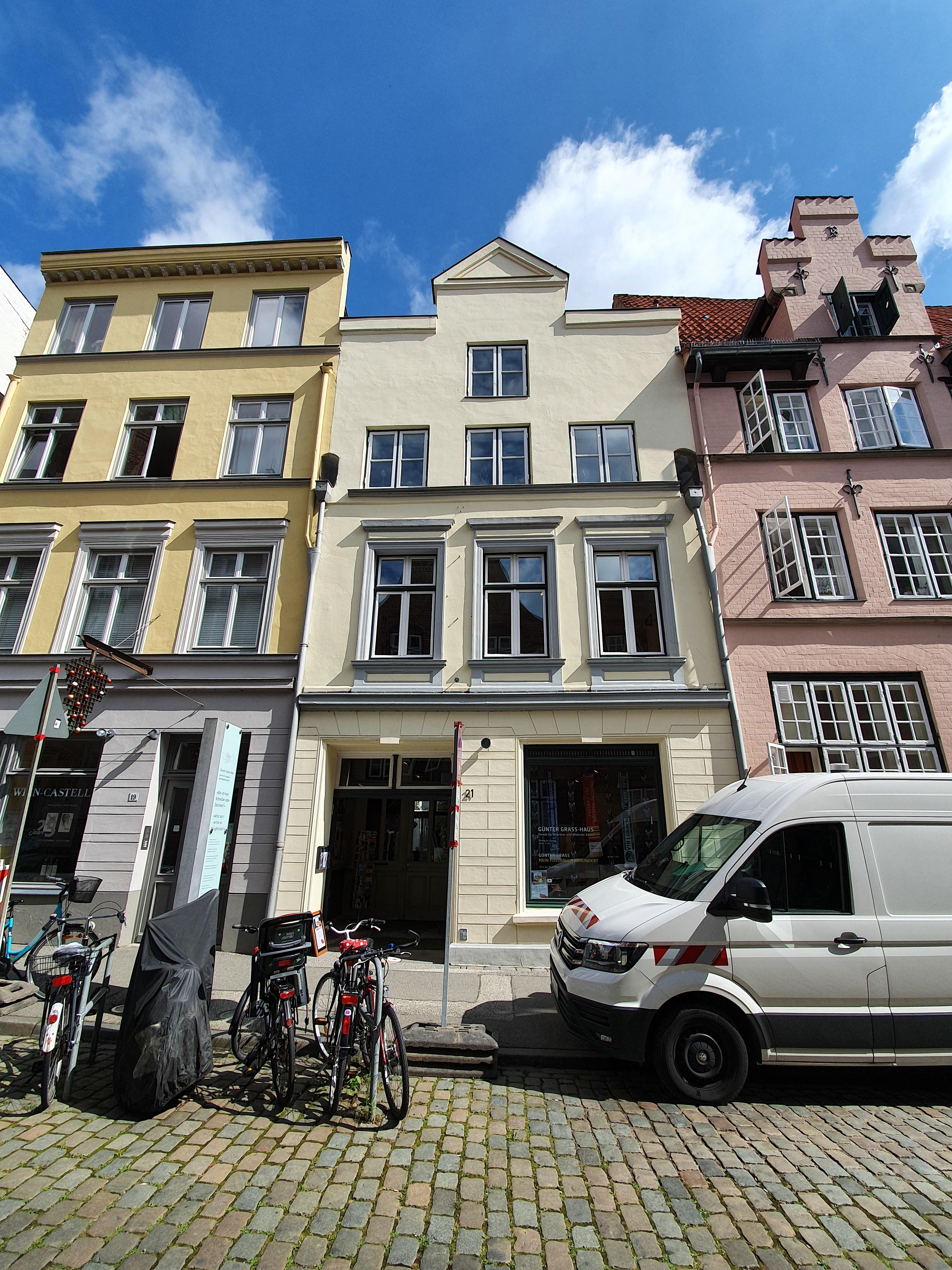 Lübeck - Altstadt und Günter-Grass-Geburtshaus