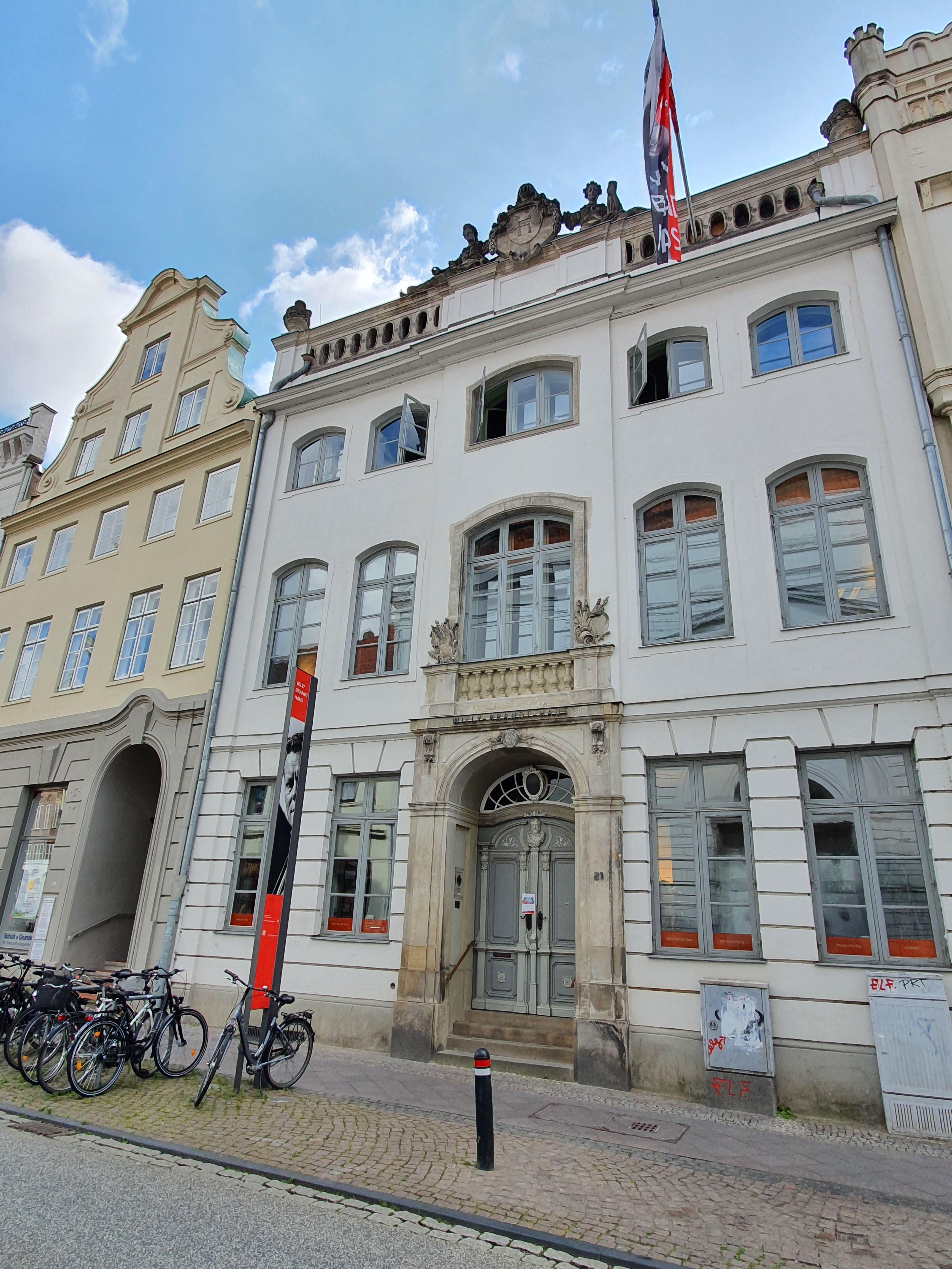 Lübeck - Altstadt und Willy-Brandt-Geburtshaus