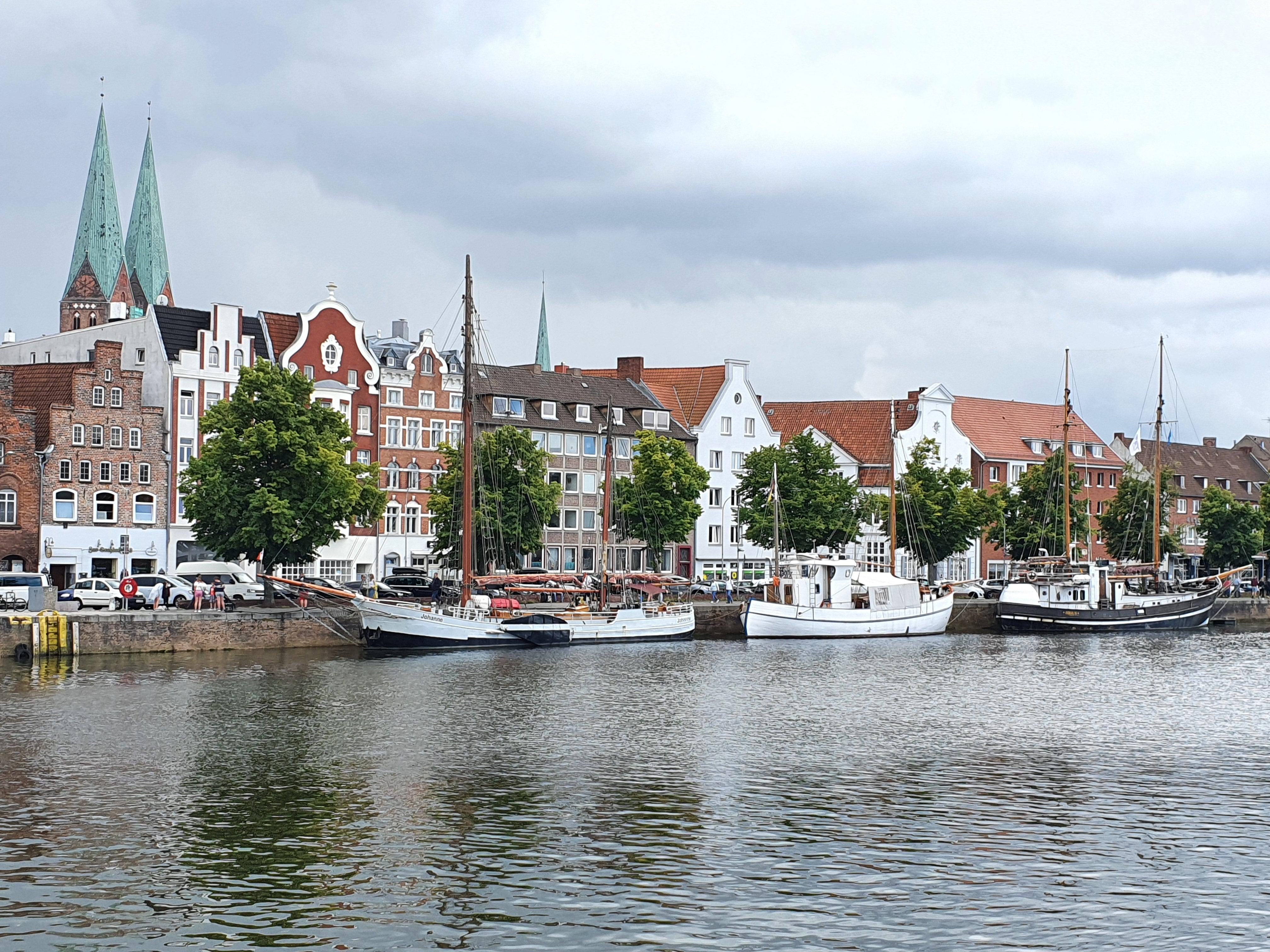 Lübeck Trave Altstadt