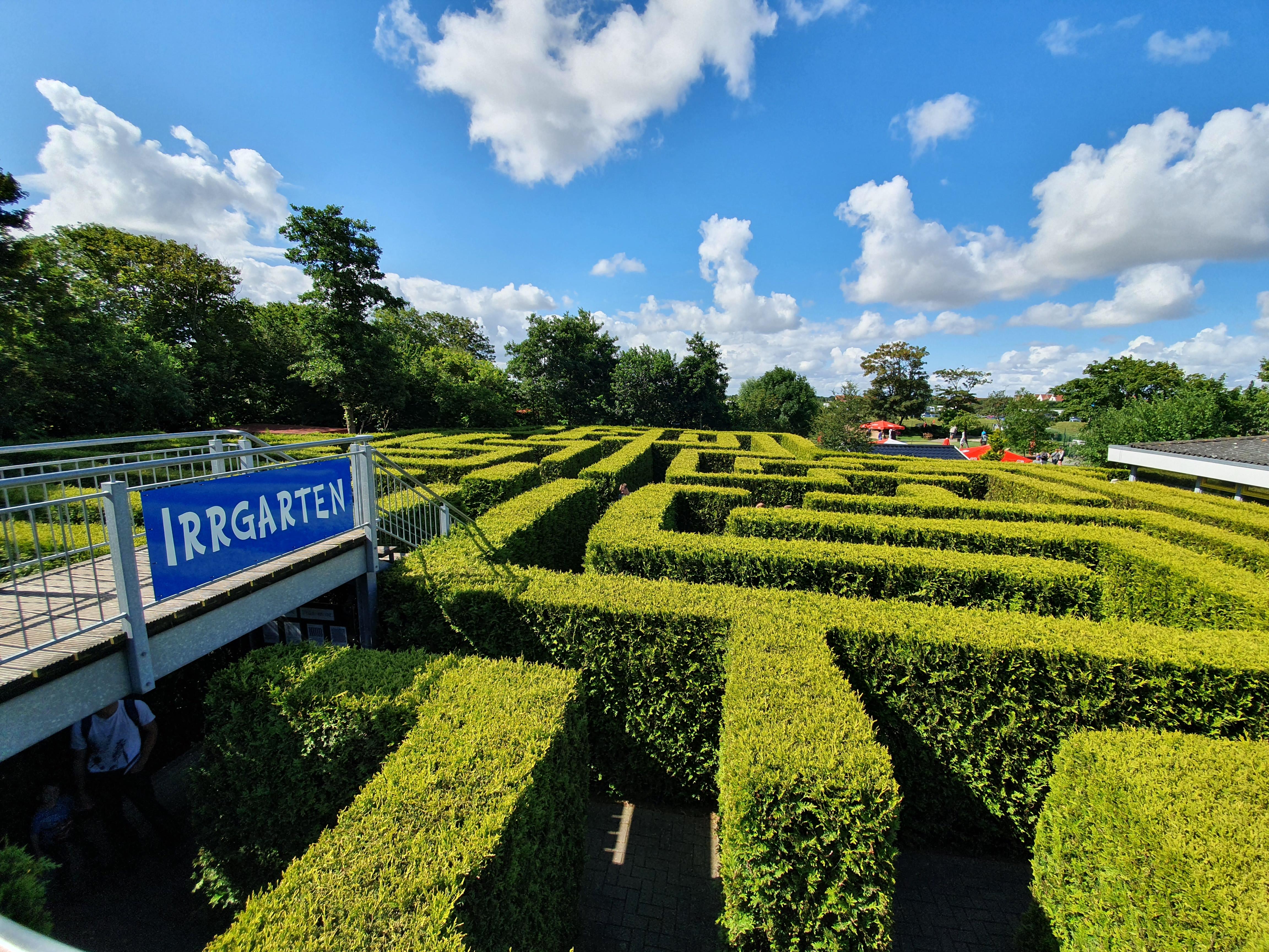 Norddeich Labyrinth