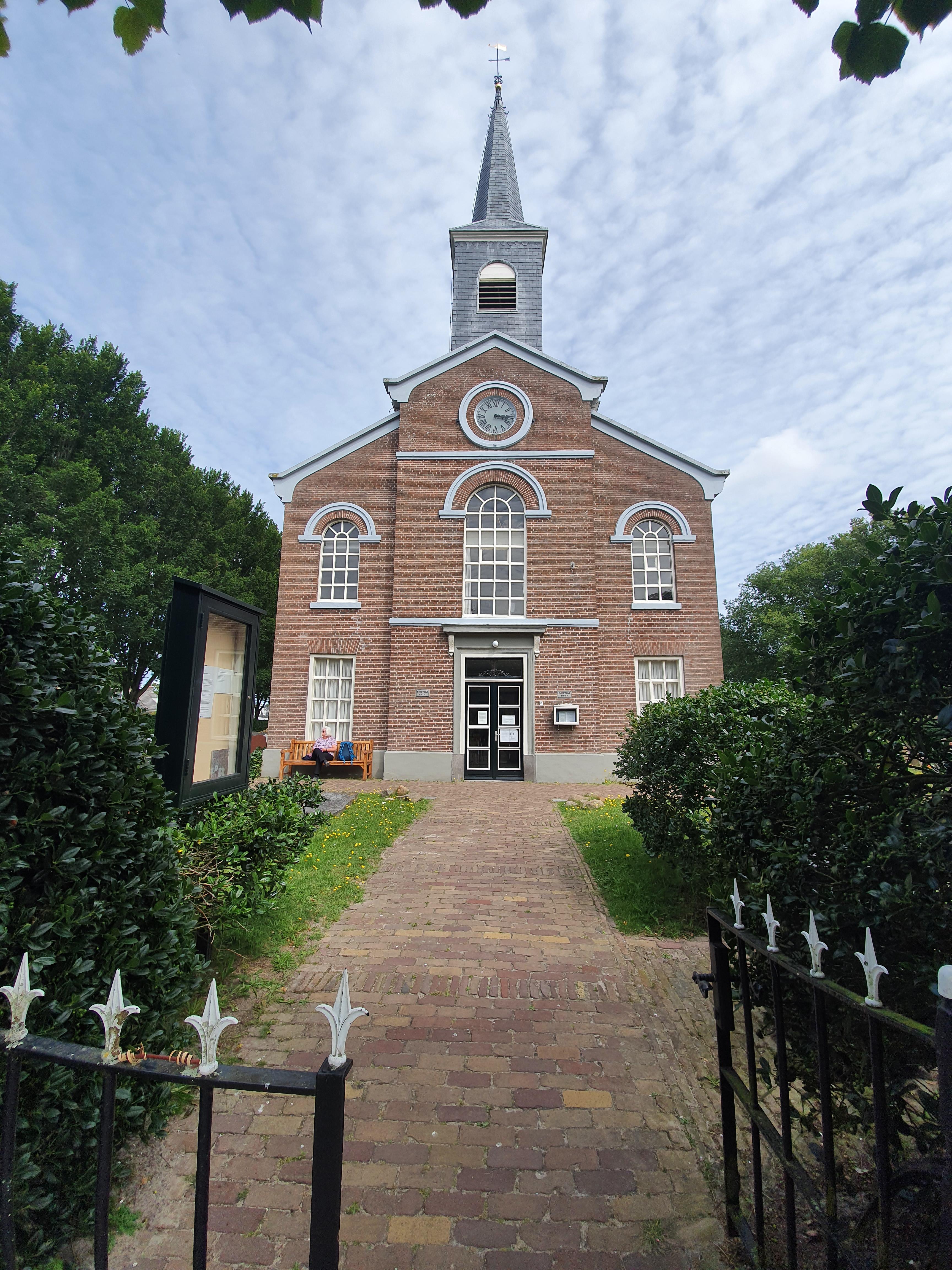 Schiermonnikoog Dorf Kirche