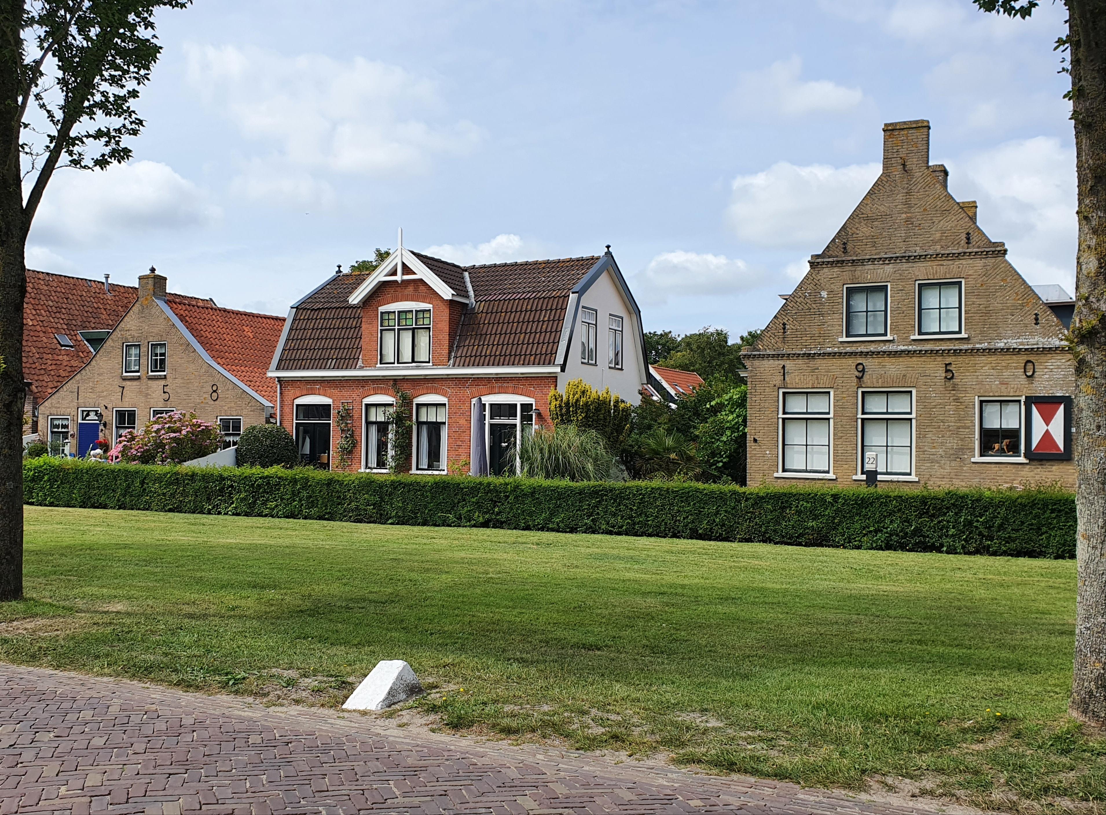 Schiermonnikoog Dorf Jahreszahlen