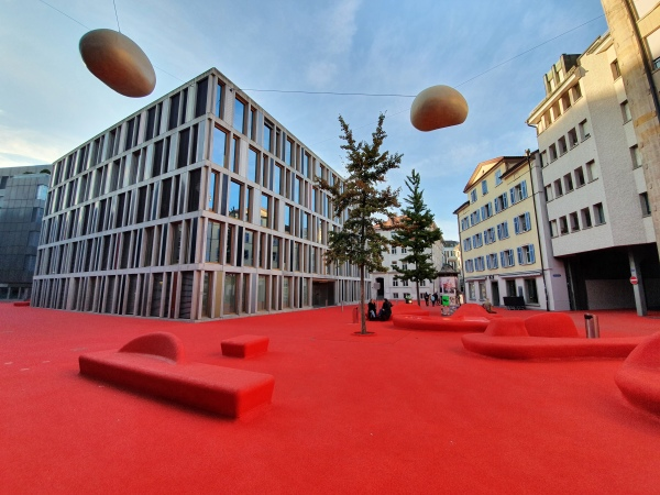 St. Gallen Roter Platz
