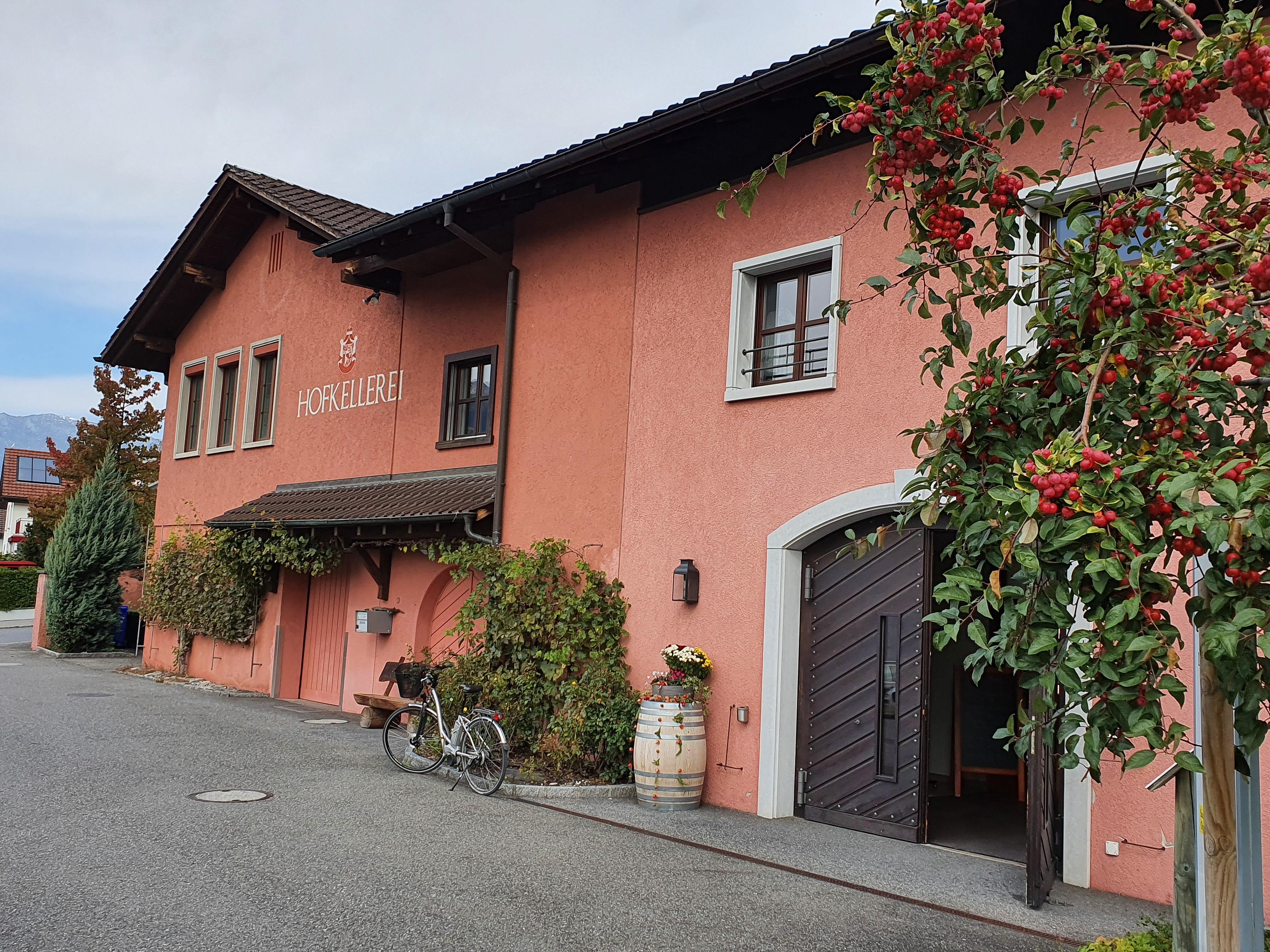 Liechtenstein fürstliche Weinkellerei