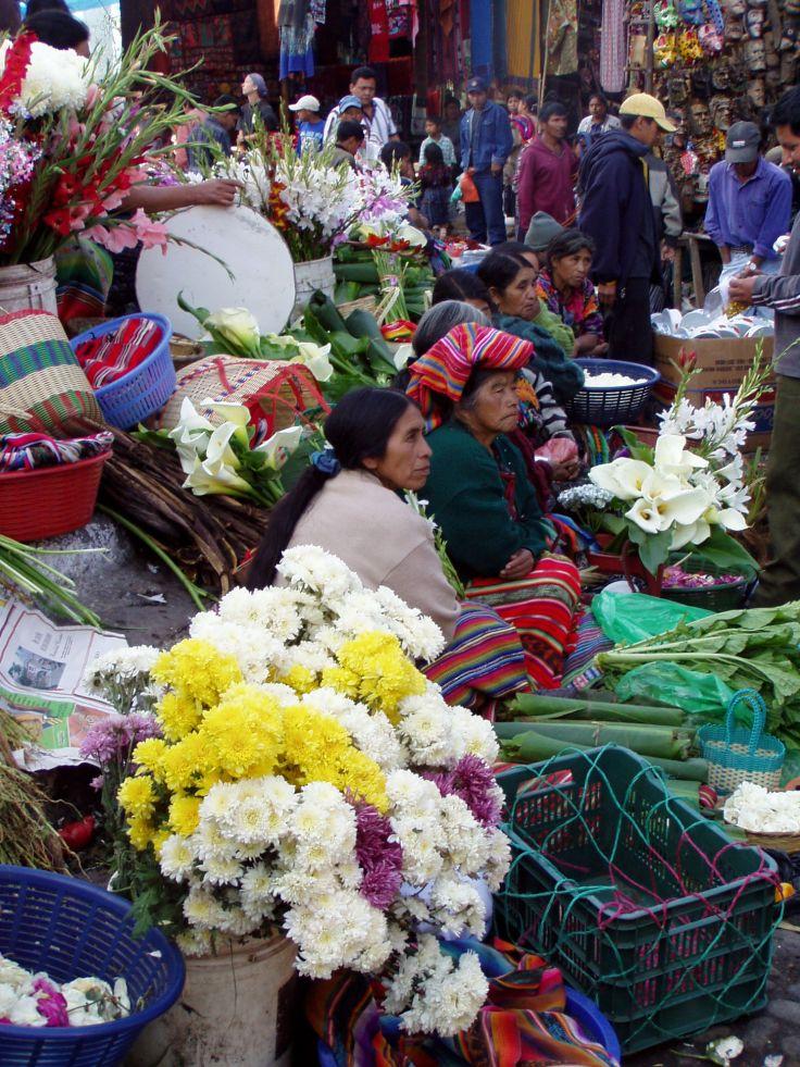 Markt Chichicastenango Guatemala