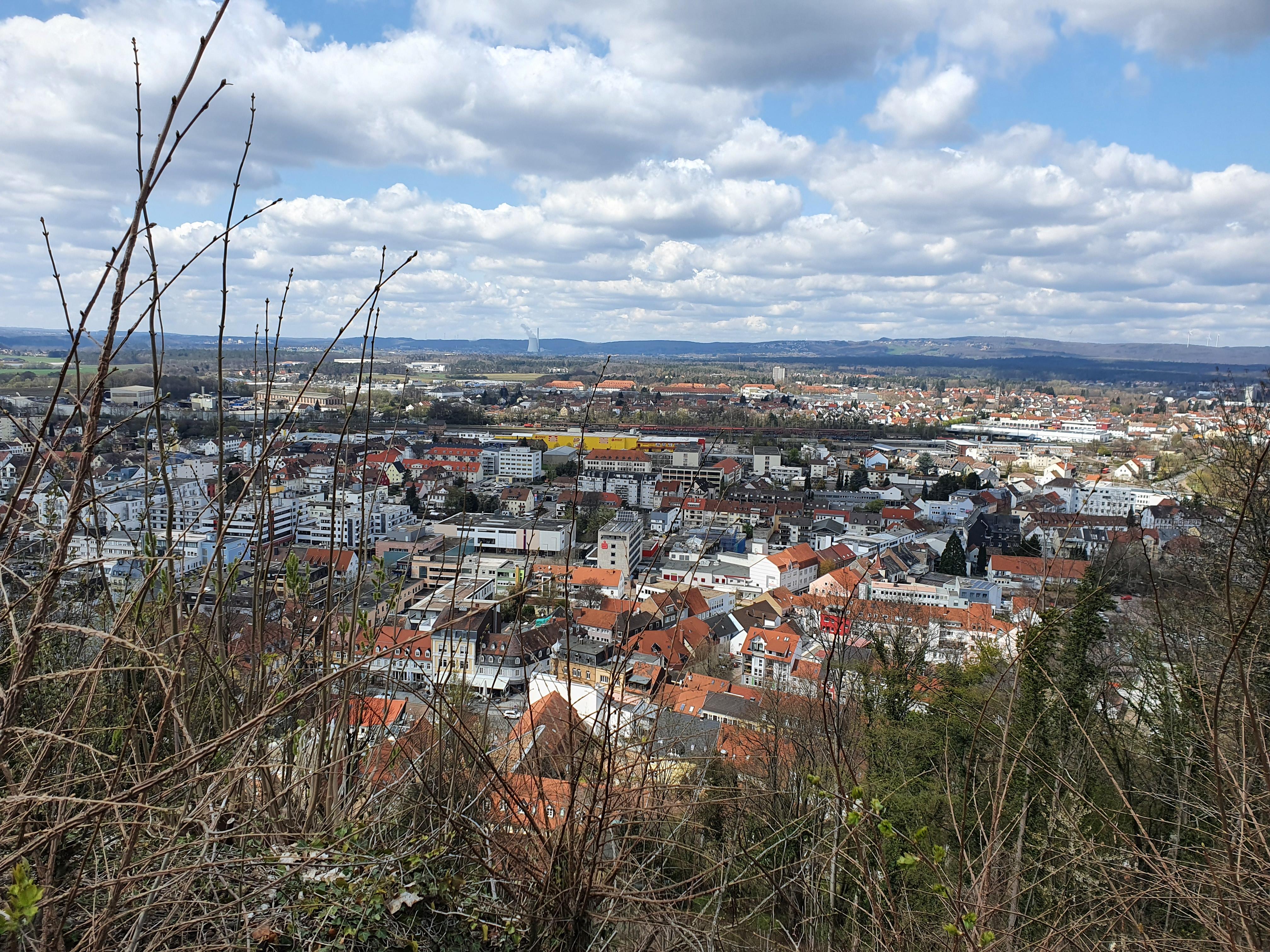 Aussicht Homburg Vauban-Festung