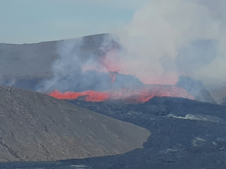 Island Fagradalsfjall Eruption