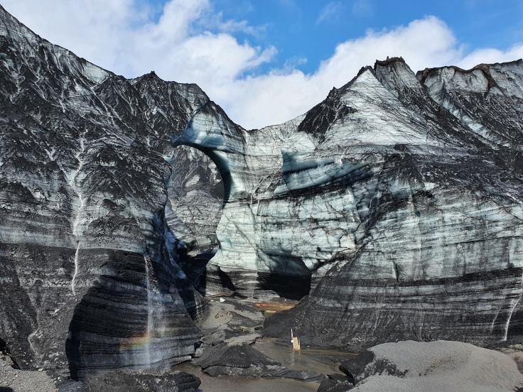 Island Katla Ice Cave Tour am Myrdalsjökull