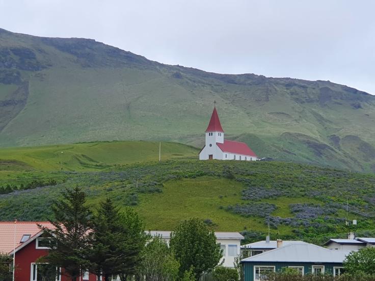 Island Kirche Vik i Myrdal