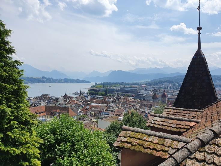 Luzern Blick von Museggmauer