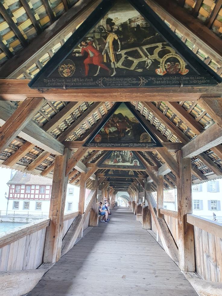 Luzern Spreuerbrücke Totentanz