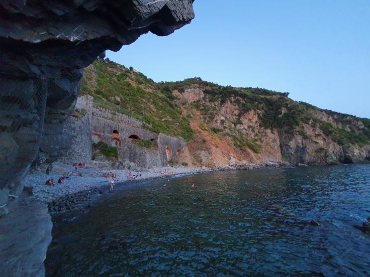Cinque Terre Riomaggiore Strand