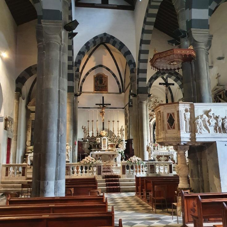 Cinque Terre Riomaggiore Kirche