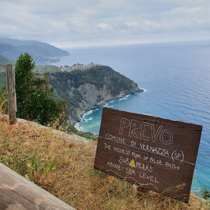 Cinque Terre Sentiero Azzurro zwischen Corniglia und Vernazza, Prevo