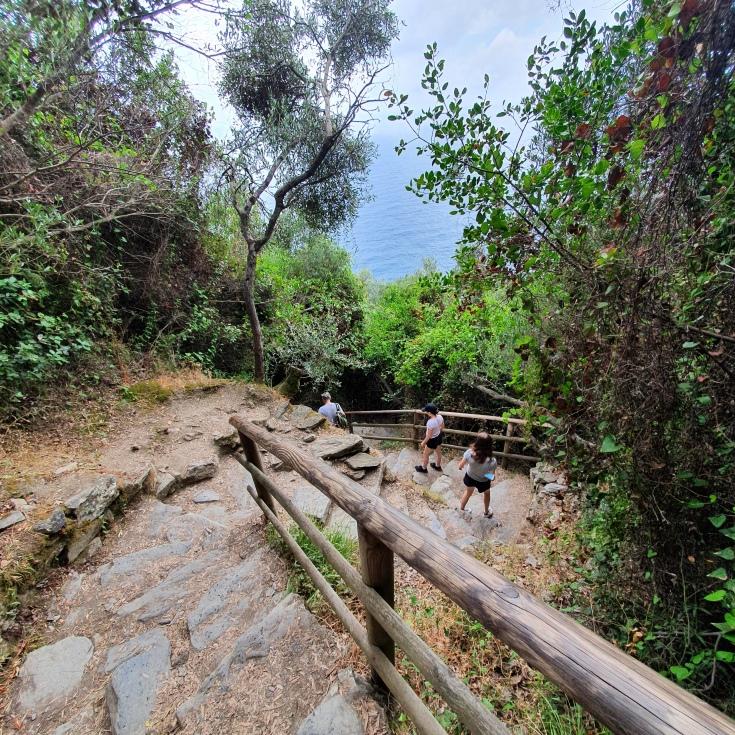 Cinque Terre Sentiero Azzurro zwischen Corniglia und Vernazza