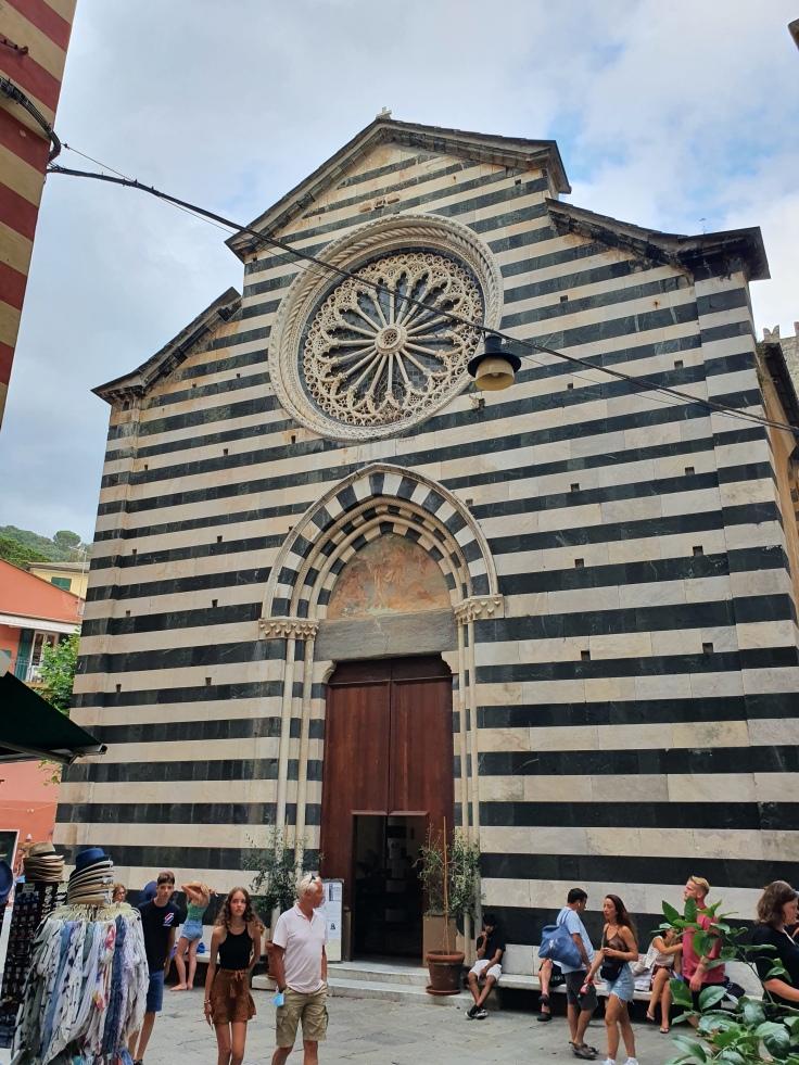 Cinque Terre Monterosso al Mare Chiesa di San Giovanni Battista