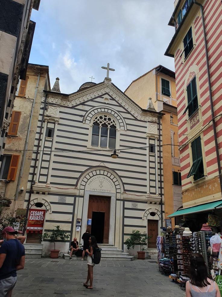 Cinque Terre Monterosso Oratorio dei Neri