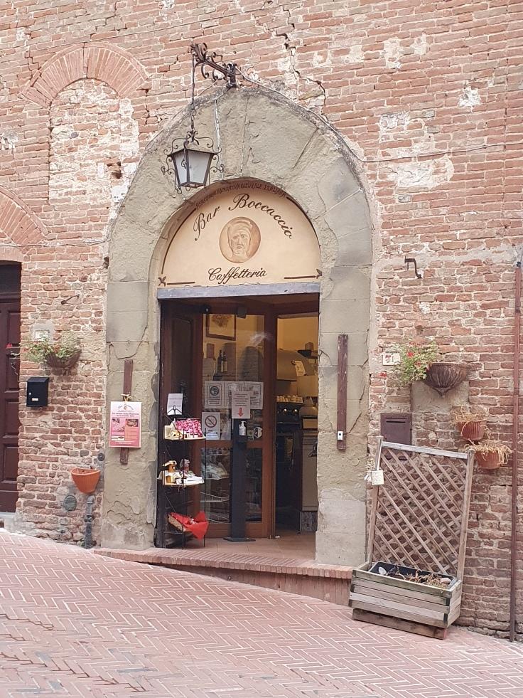 Certaldo Alto Bar Boccaccio