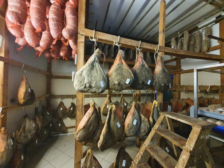 La Vecchia Norcineria - Salami und Wurst