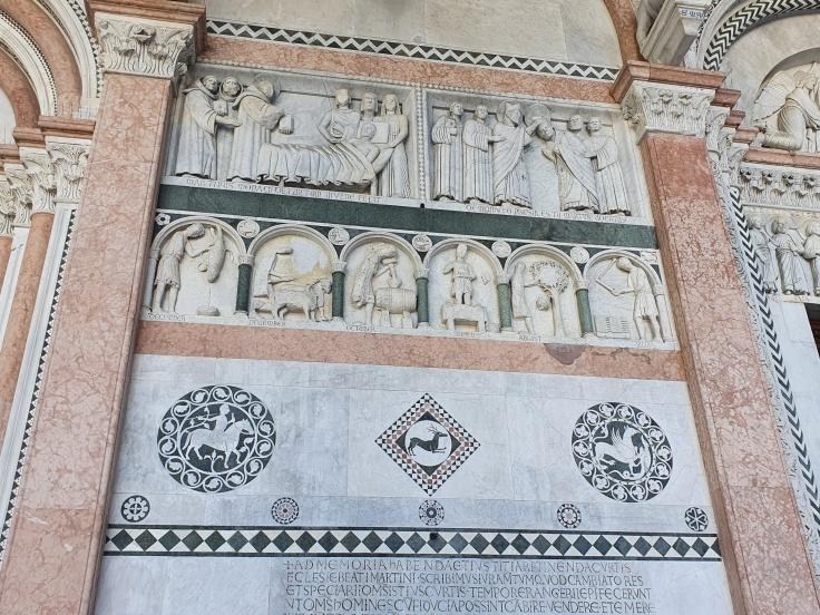 Lucca Kathedrale Fassade Duomo San Martino