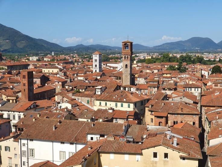 Lucca - Blick vom Geschlechterturm Guinigiturm