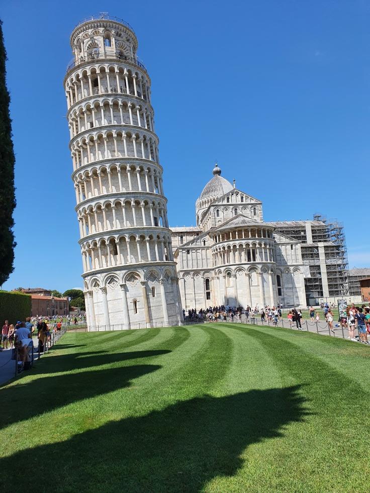 Pisa - Schiefer Turm (Campanile) mit Dom