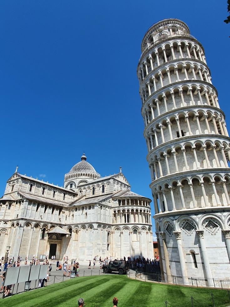 Pisa - Schiefer Turm mit Dom