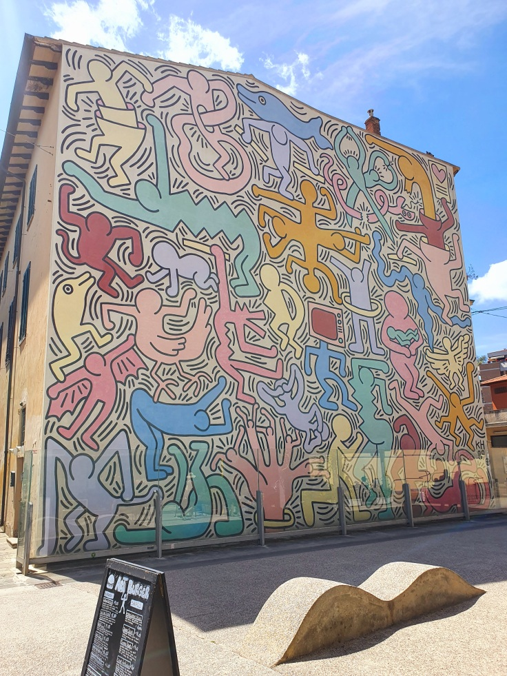 "Pisa - Keith Harings ""Tuttomondo"""