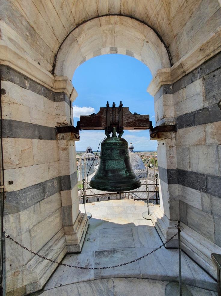 Pisa - Glockenturm des Schiefen Turms