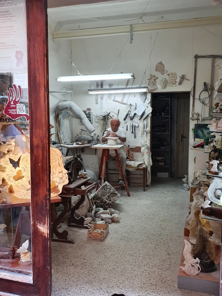 Volterra - Alabaster-Werkstatt