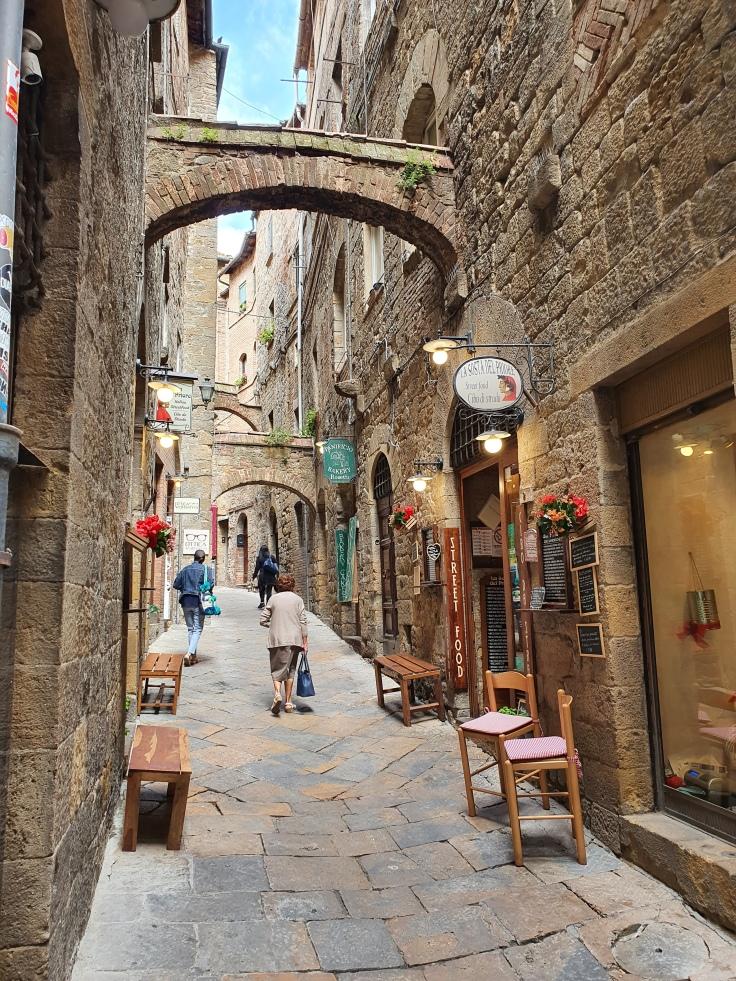 Volterra Altstadtgassen