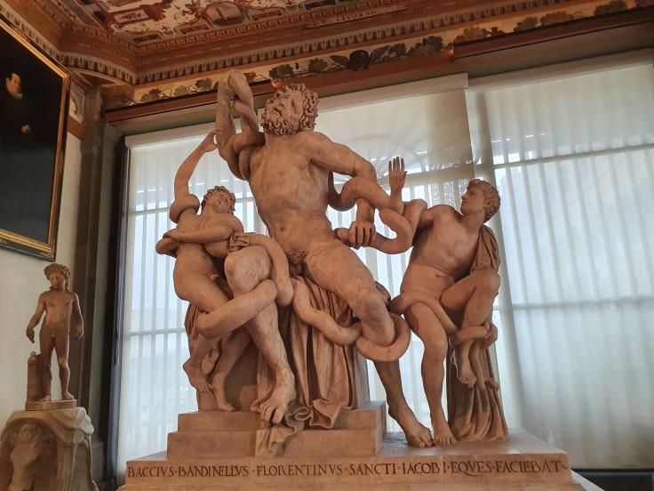 Florenz - Uffizien: Laokoon-Gruppe von Bandinelli