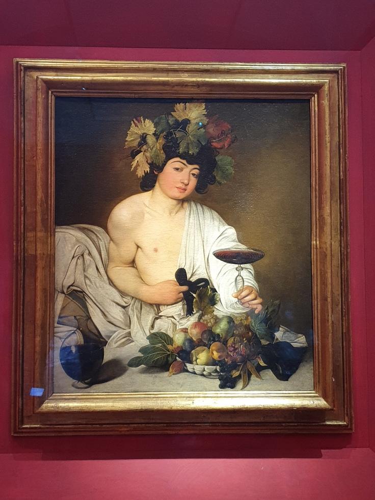 Florenz - Uffizien: Caravaggios Bacchus