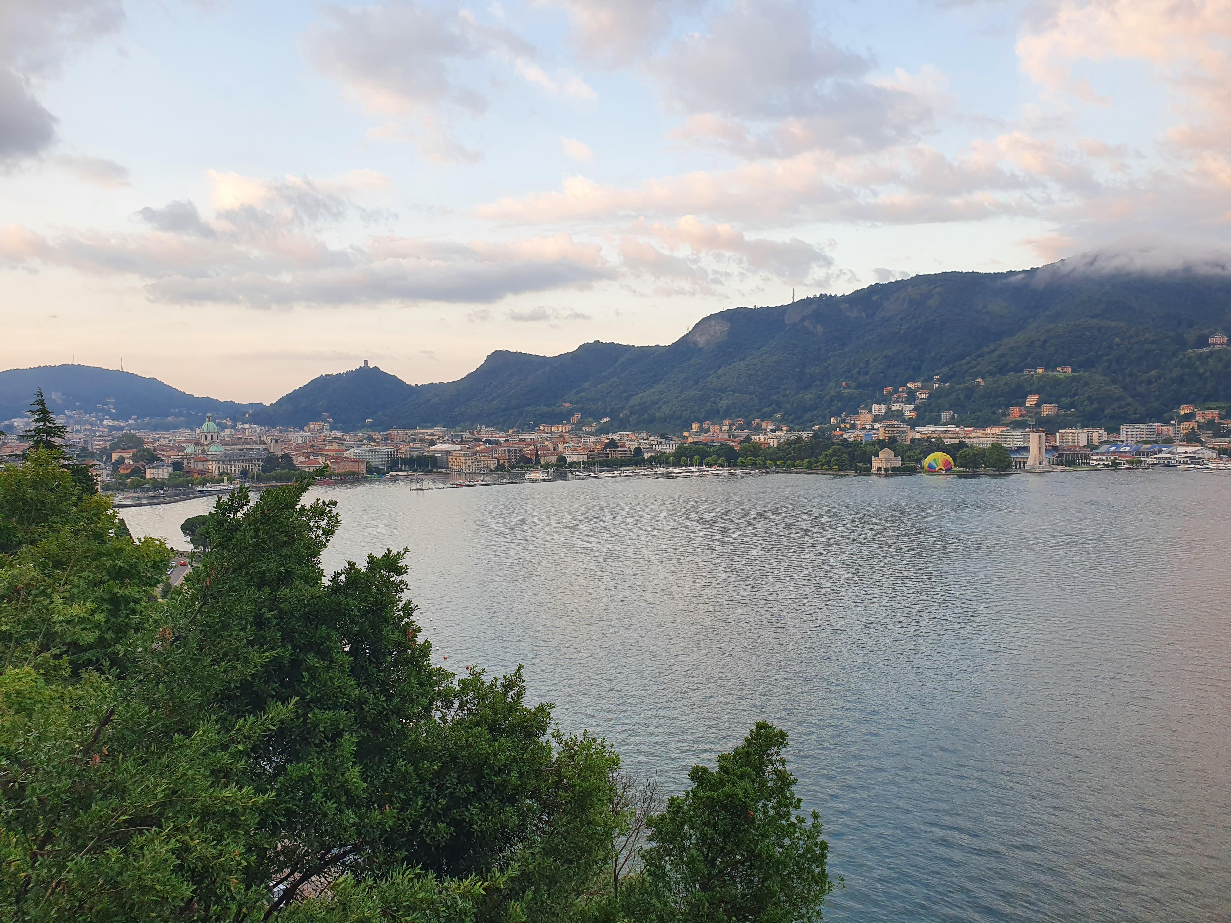 Blick auf Como