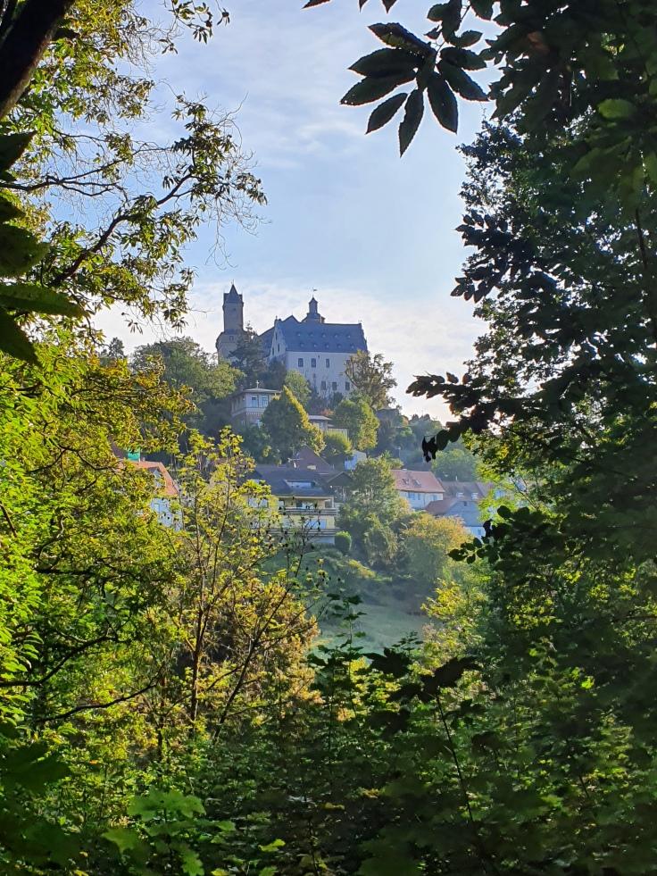Kastaneum Kronberg Blick auf Kronberg